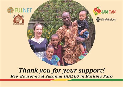 Sustainable Church Planting and Networking, Africa. - Boureima and Susanna Diallo