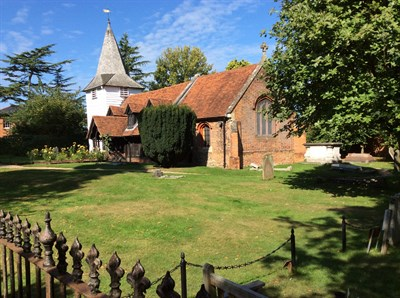 St Andrews Church Greensted